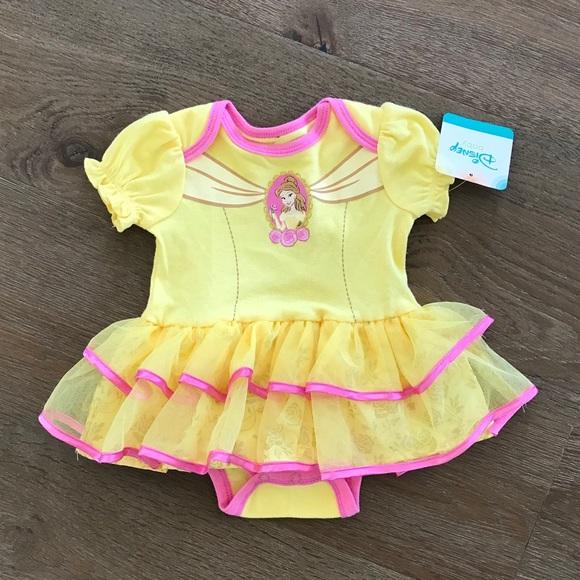 b09e4d474 Disney Costumes | Bnwt Princess Belle Costume Tutu Dress | Poshmark
